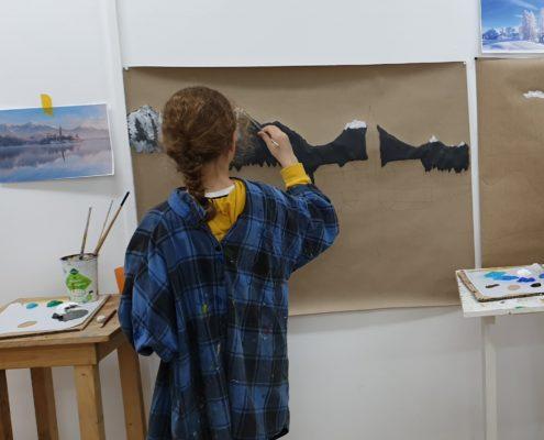 art class kids and teenagers amsterdam 2020